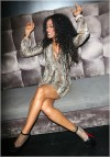 Tami Roman Attend E40 Triple Album Release Party