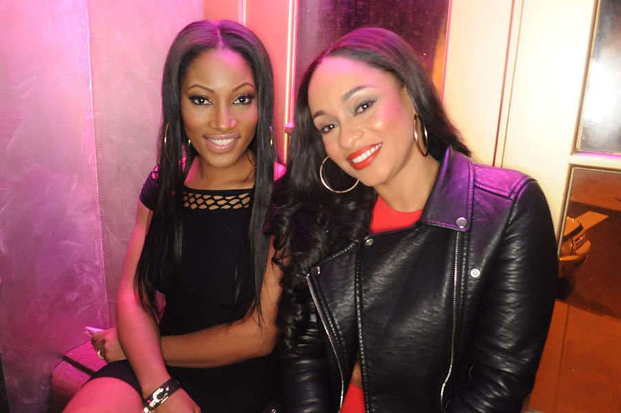 Erica Dixon and Tahiry Jose