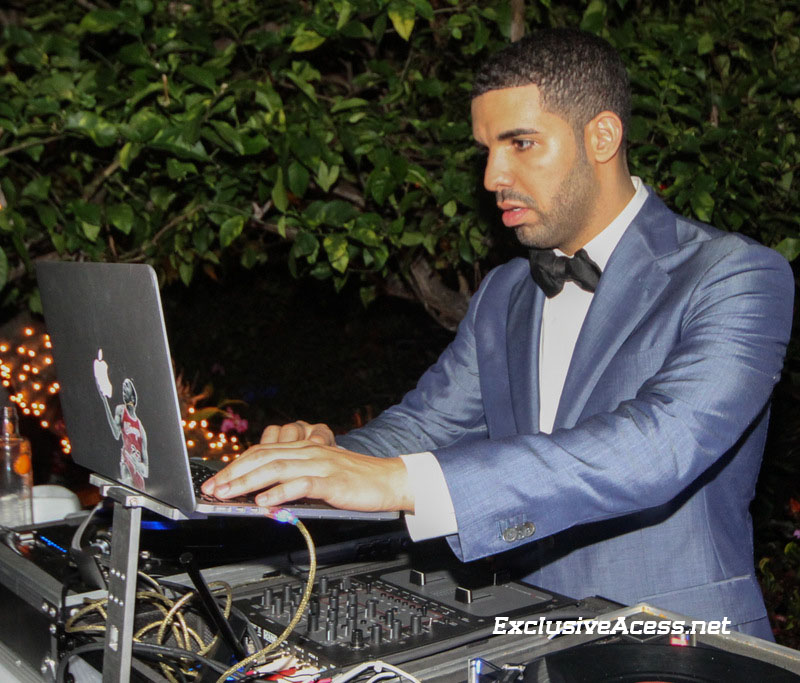 drake djs at diddys nye party