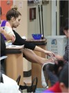 Kim Kardashian visits a nail salon in Beverly Hills