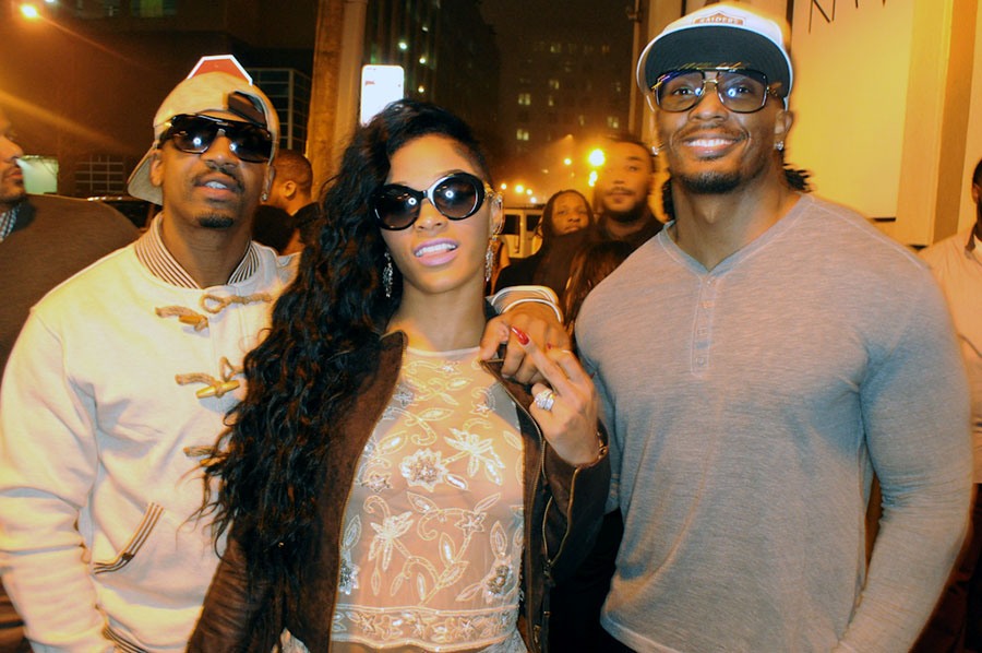 Joseline Hernandez Stevie J and Omar Slim White