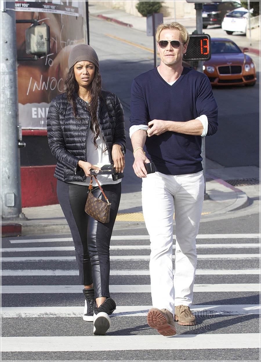 Celebrity Couple: Tyra Banks and Erik Asla