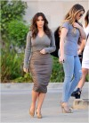 Kim Kardashian and her sisters visit a spa