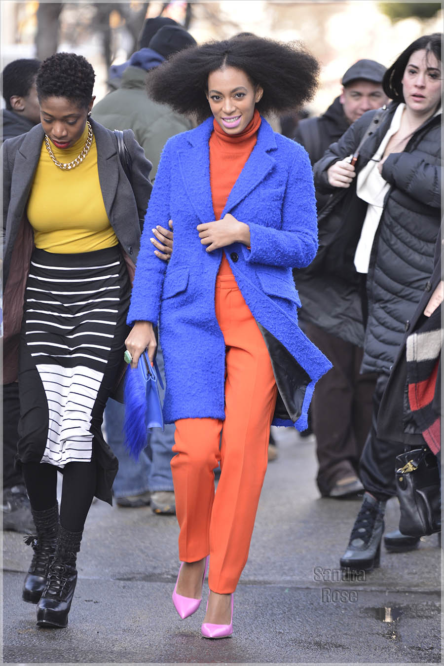 Solange Knowles at Fashion Week