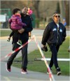 Beyonce, Jay Z and daughter Blue Ivy on family playdate