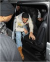 Rihanna and Drake arrive at Cirque le Soir night club