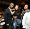 L-R Stephen Hill (BET), Erica Mena, Bow Wow