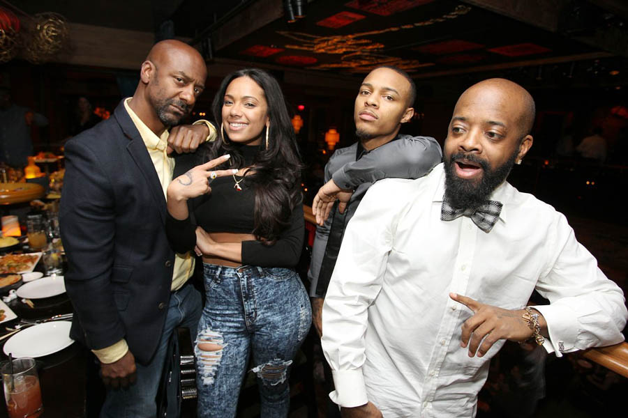Bow Wow and former girlfriend Angela Simmons