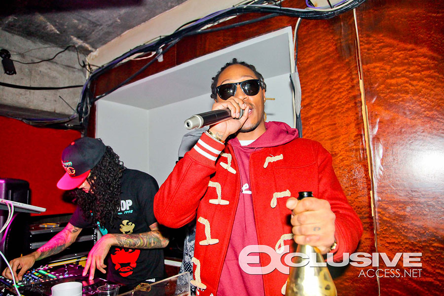 Rapper Future listening session at Halo