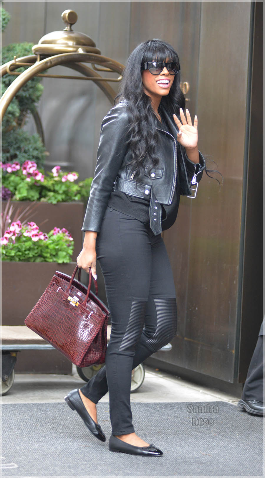 Porsha Williams out and about in New York City