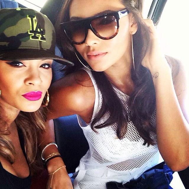 Evelyn Lozada and Shaniece