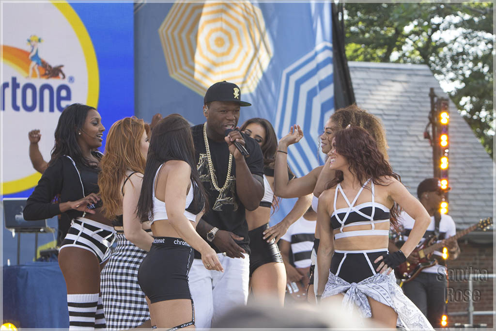 50 Cent Performs on Good Morning America