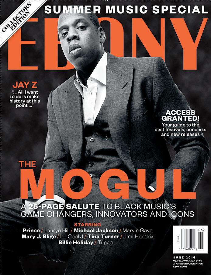 Jay Z covers EBONY