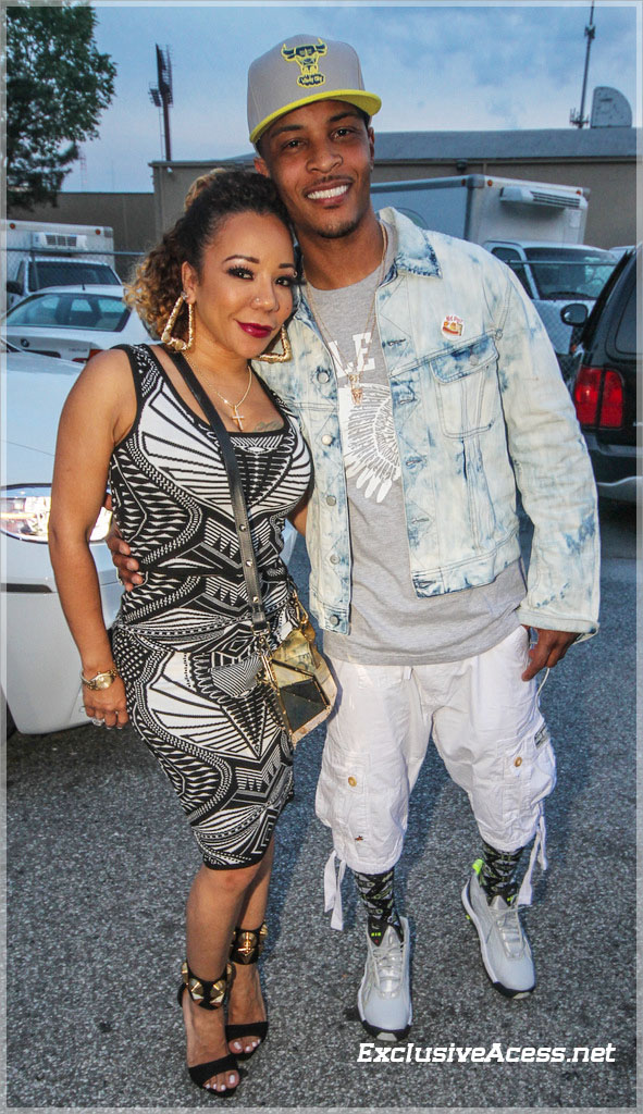 T.I. and Tiny Boo'd Up at Sister 2 Sister Ladies Night