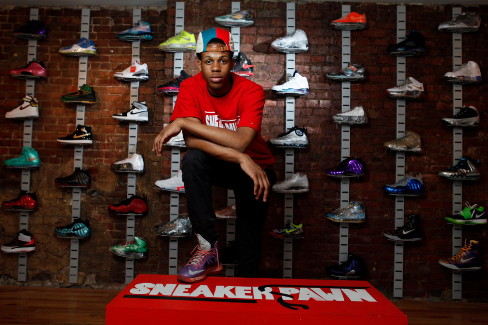 Chase Reed opens pawn shop for sneakers