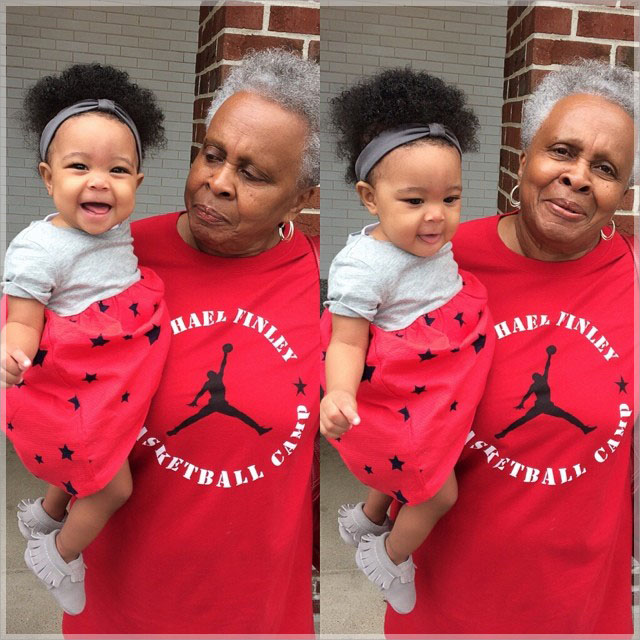 Laiyah and her granny