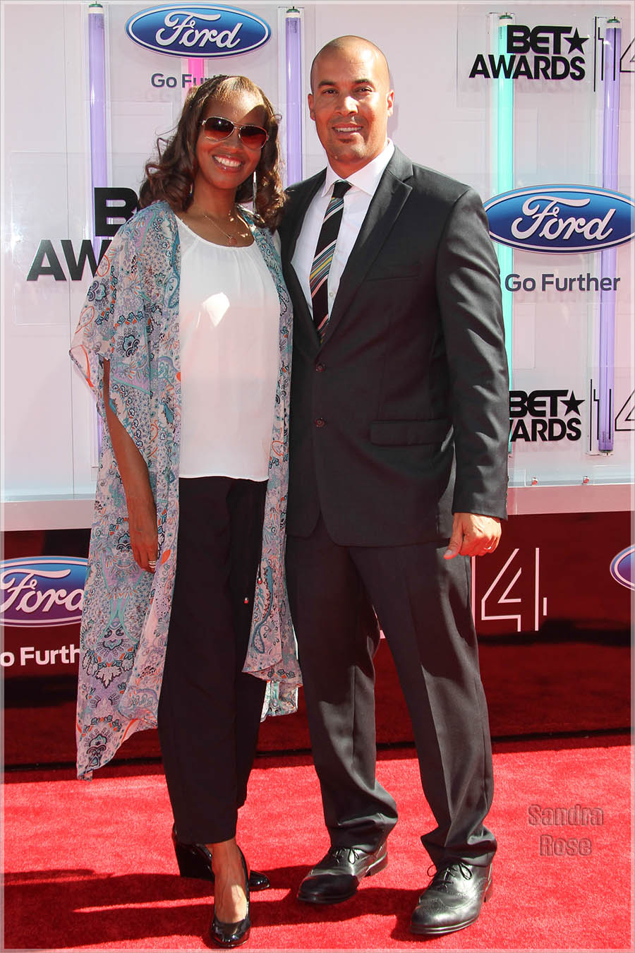 Coby Bell at the 2014 BET Awards