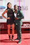 Eniko and Kevin Hart at the 2014 BET Awards