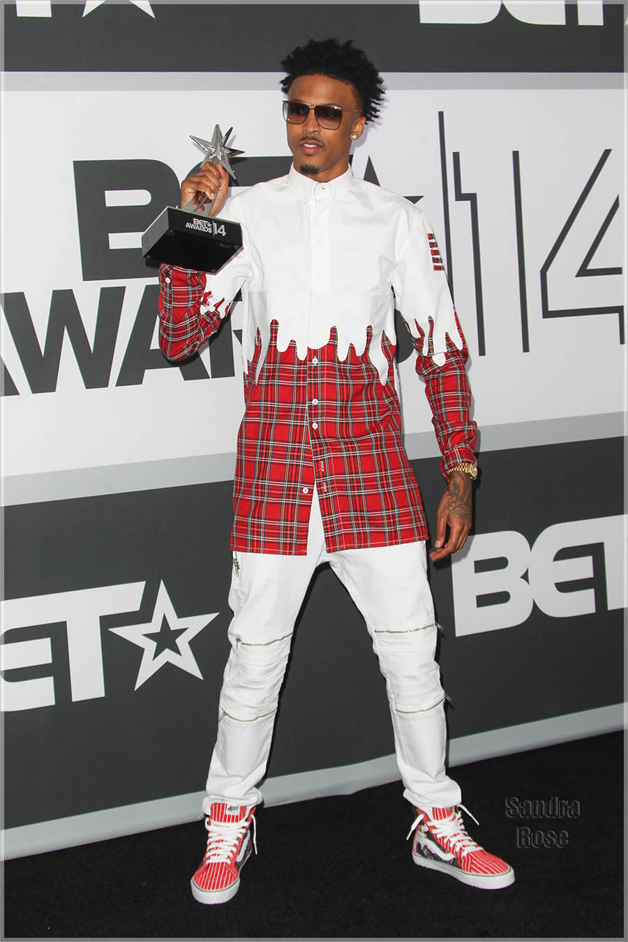August Alsina at the 2014 BET Awards Press Room