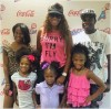 "Chanita Foster Attends WNBA Atlanta Dream's ""Dads & Daughters Night"""