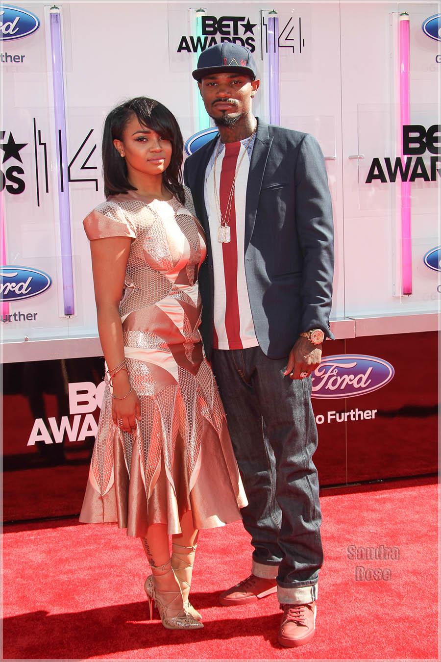 Kyla Pratt and Danny at the 2014 BET Awards