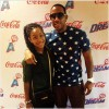 "Ludacris Attends WNBA Atlanta Dream's ""Dads & Daughters Night"" with Daughter"