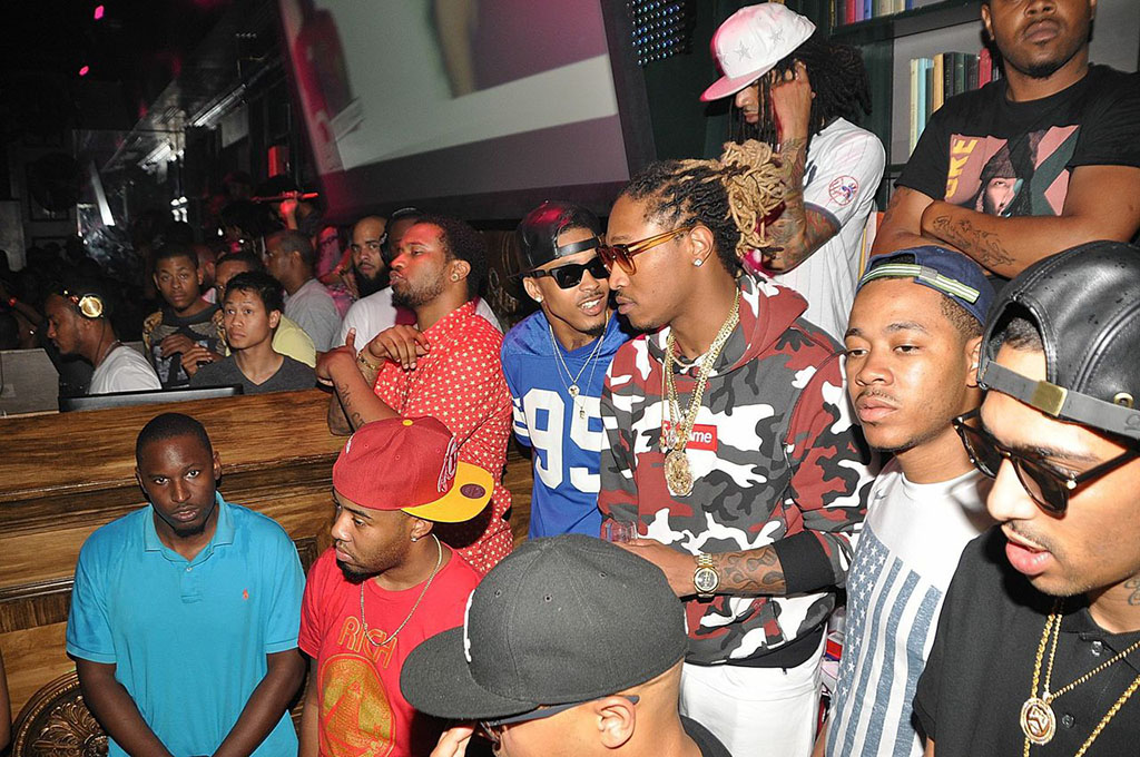 Future and August Alsina Party at Capitale Nightclub in DC