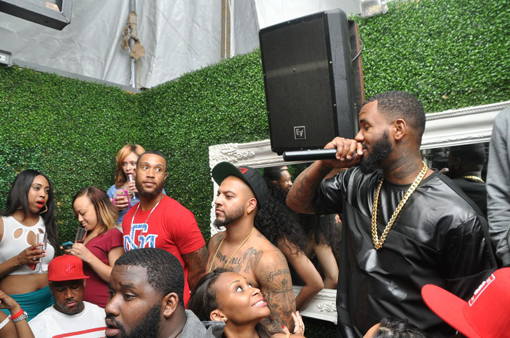 Game and LoLo Party with Hennessy V.S. in DC