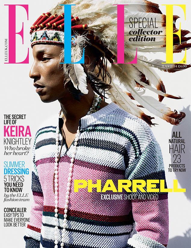Pharrell Williams Covers ELLE