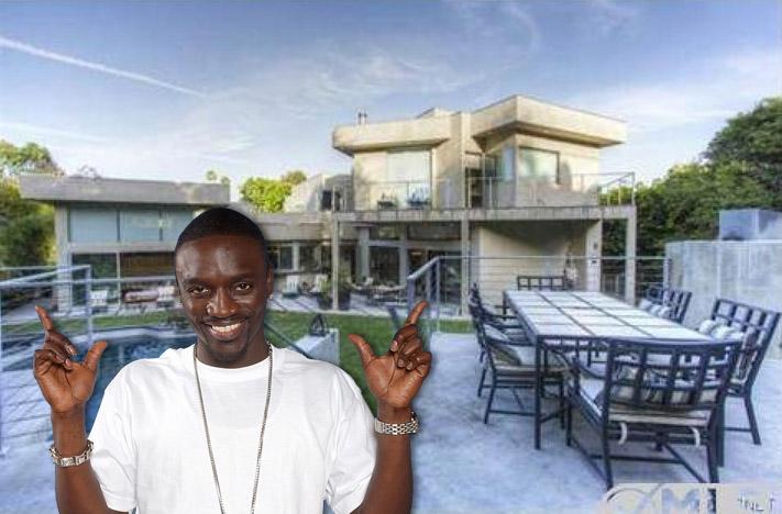 Akon listing home