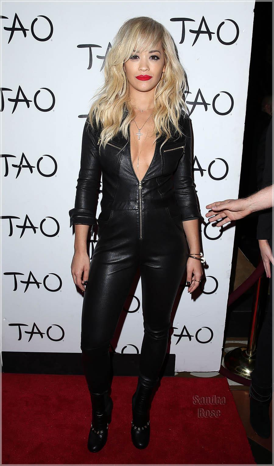 Rita Ora Hosts TAO Nightclub