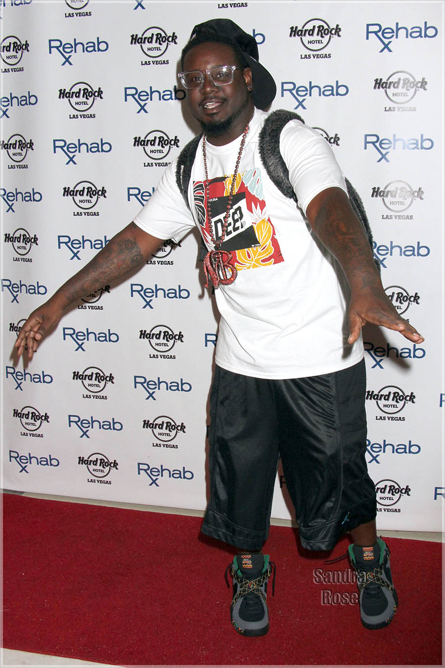 T Pain Performs and DJs at Rehab Pool LV