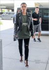 Kim Kardashian goes shopping at Topanga Mall
