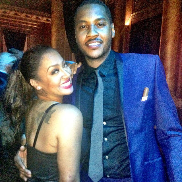 LaLa and Carmelo Anthony