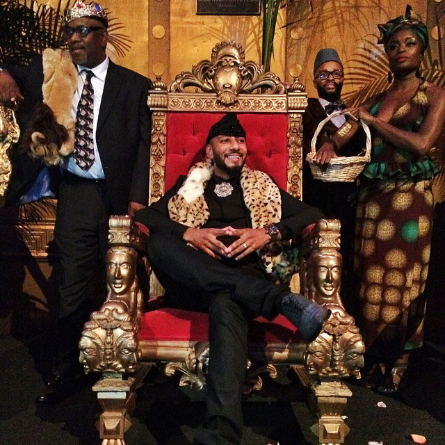 Swizz Beatz Coming To America Birthday Party