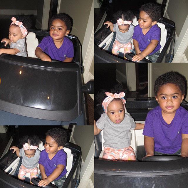 Laiyah Brown and PJ