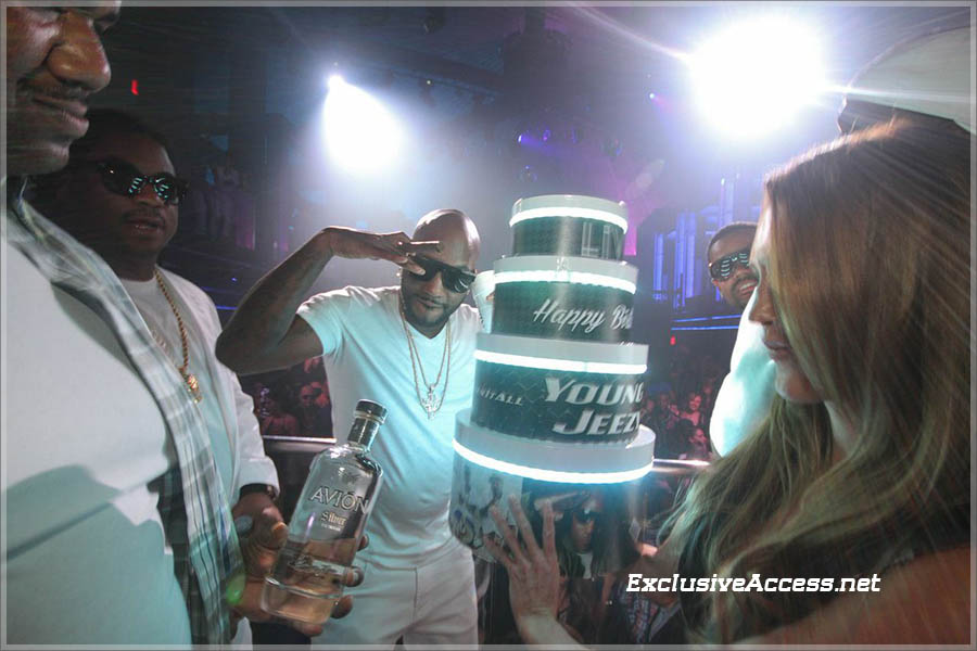 Young Jeezy celebrates birthday at LIV on Miami Beach