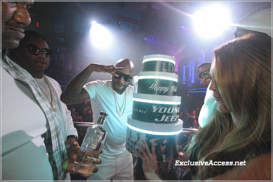 Young Jeezy celebrates birthday at LIV on Miami Beach