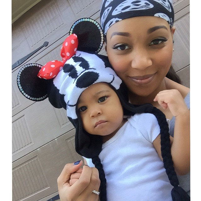 Monica Brown and Laiyah Shannon Brown
