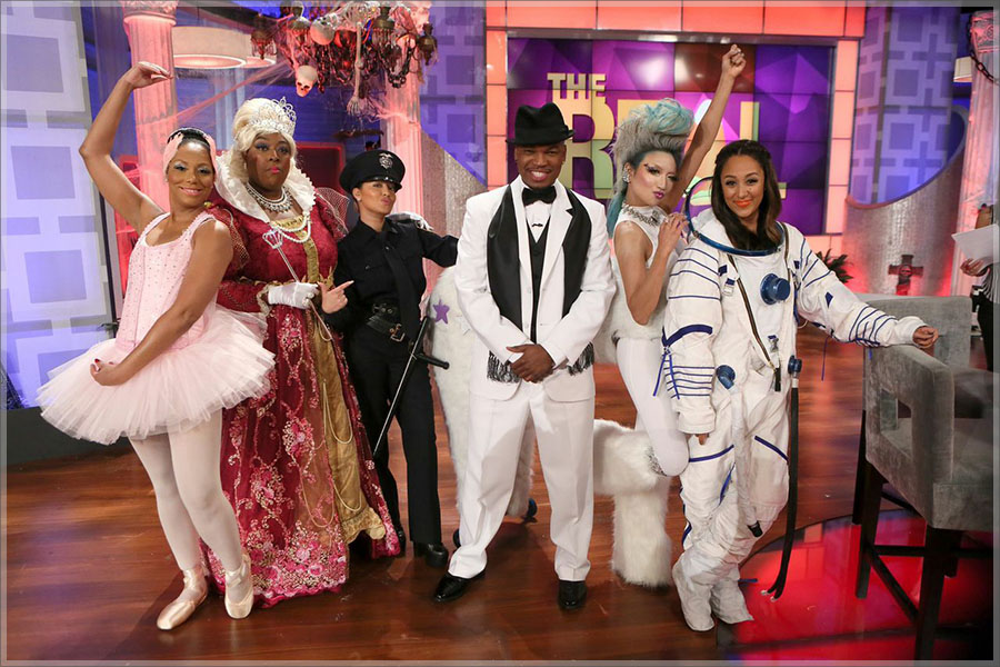 NE-YO Visits The Real Halloween Costume Special