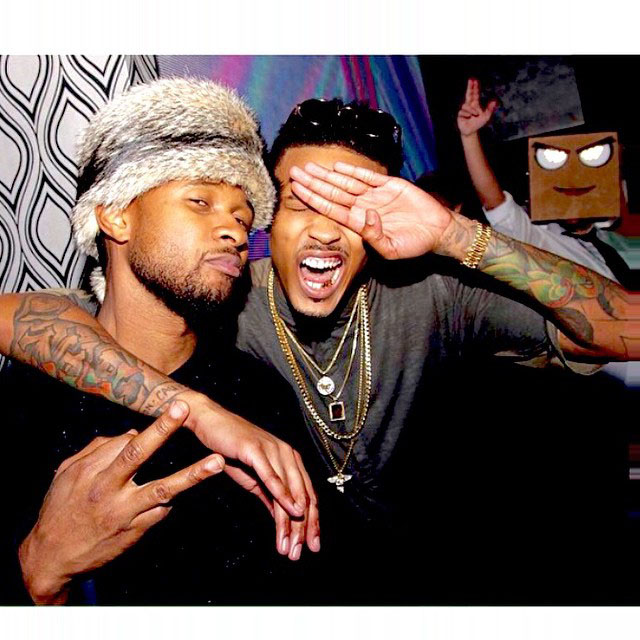 Usher and August Alsina