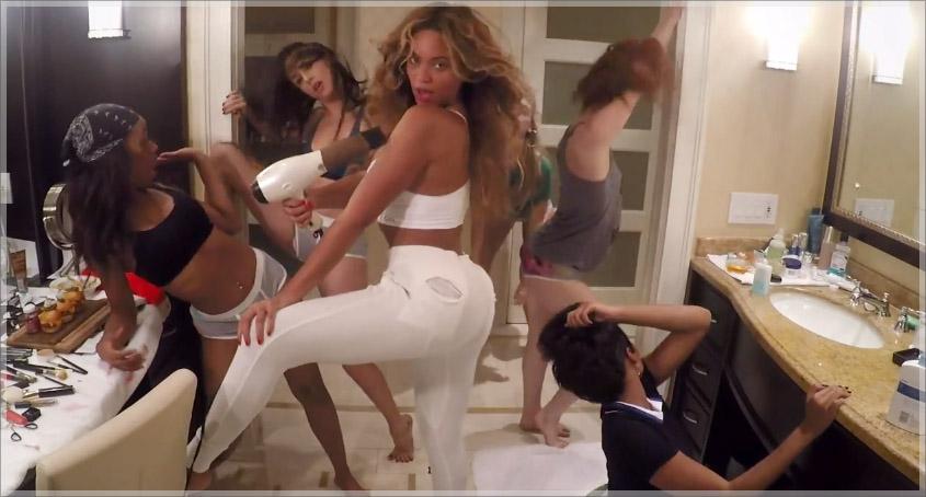 Beyonce 711 video
