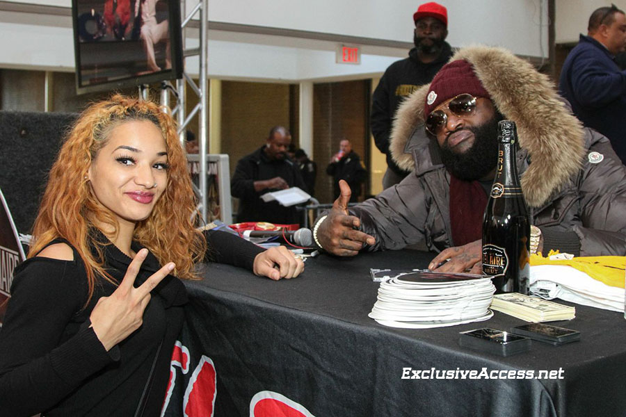 Rick Ross in-store at S Dekalb mall