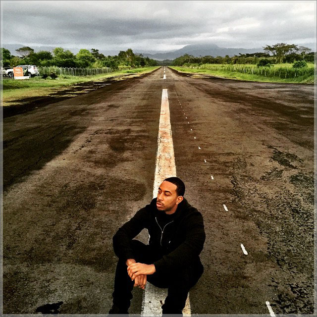 Ludacris proposes to Eudoxie