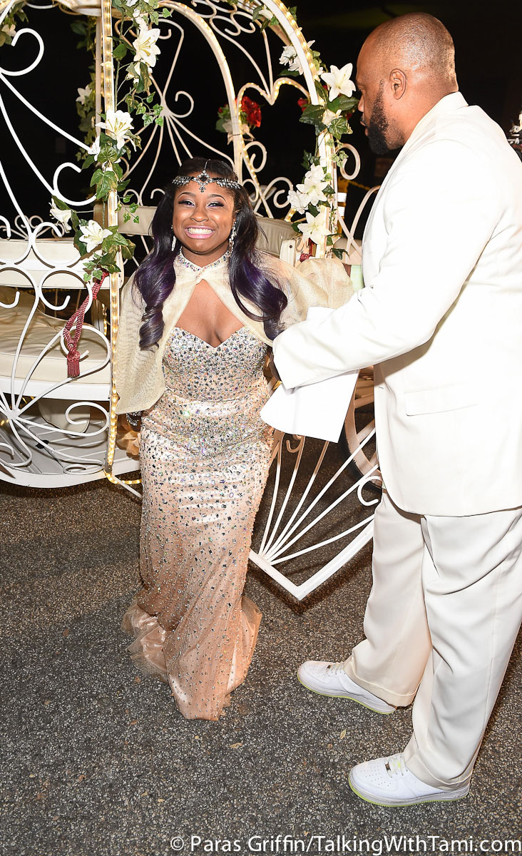 Reginae's Winter White Sweet 16 Birthday party