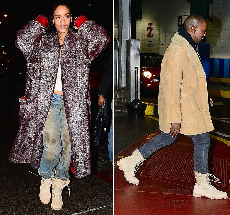 Rihanna and Kane West