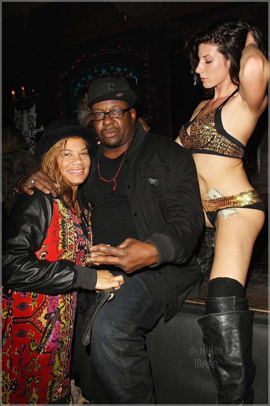 Alicia Etheredge and Bobby Brown at GB2 Wednesdays at The Abbey POP UP Performance