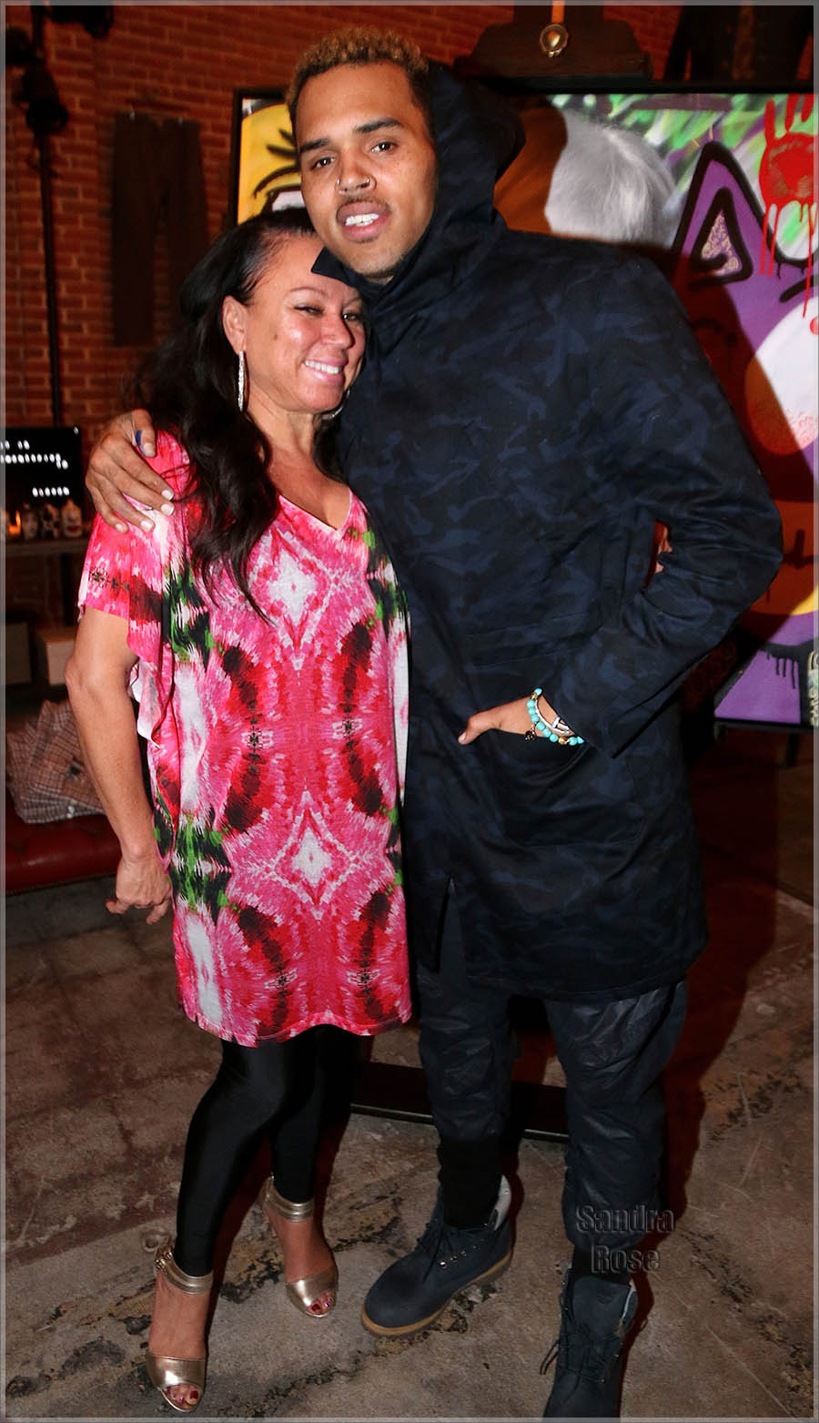 Chris Brown and Karen Bystedt Exclusive Serigraph Signing Benefit Symphonic Love Foundation