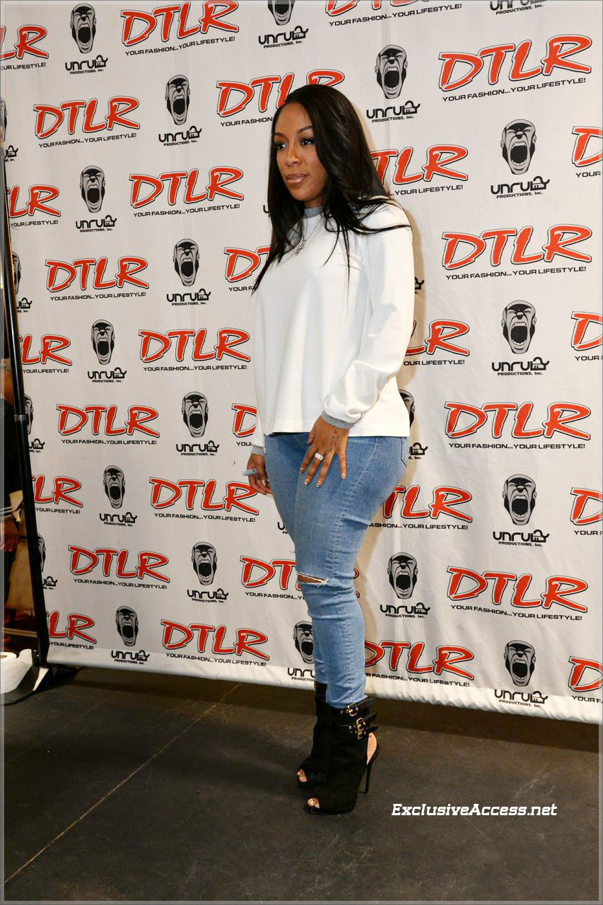 K Michelle at DTLR