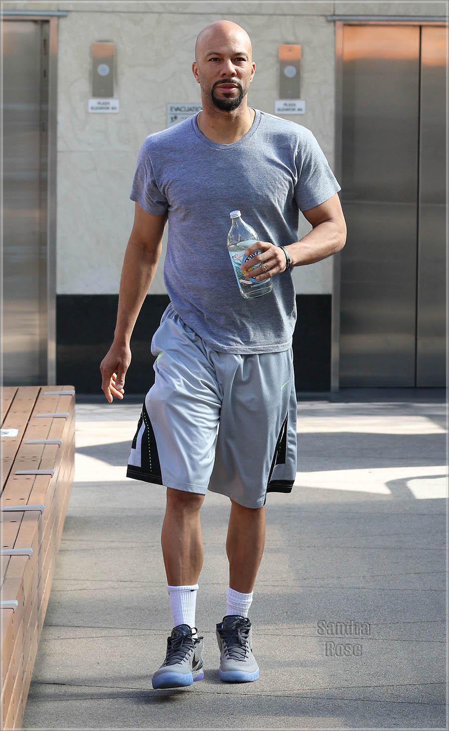 Oscar winner Common hits the gym